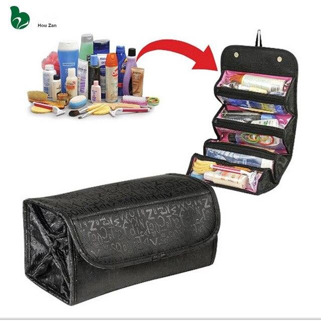 077b810154c5 Necessaire Women Make Up Makeup Organizer Cosmetic Bag Box Vanity Case  Beautician Neceser Toiletry Travel Necesser Purse Pouch