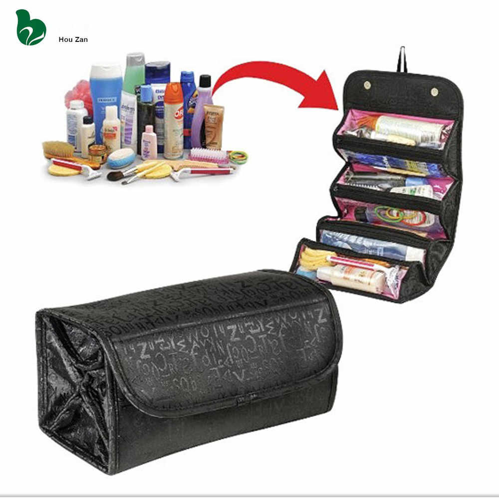 ad5cb49fabd1 Necessaire Women Make Up Makeup Organizer Cosmetic Bag Box Vanity Case  Beautician Neceser Toiletry Travel Necesser
