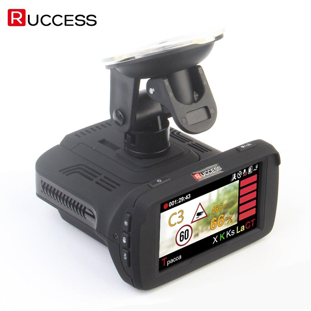 Ambarella A7LA50 3 In 1 GPS Auto DVR Videocamera per auto Anti Radar Auto-Detector Dash Cam Video Recorder 1296 p speedcam HD 1080 p Strelka