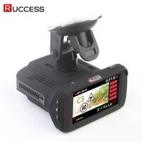 Ambarella A7LA50 3 в 1 gps Видеорегистраторы для автомобилей автомобиля Камера Анти радар детектор регистраторы видео Регистраторы 1296 P Speedcam HD 1080 P стр