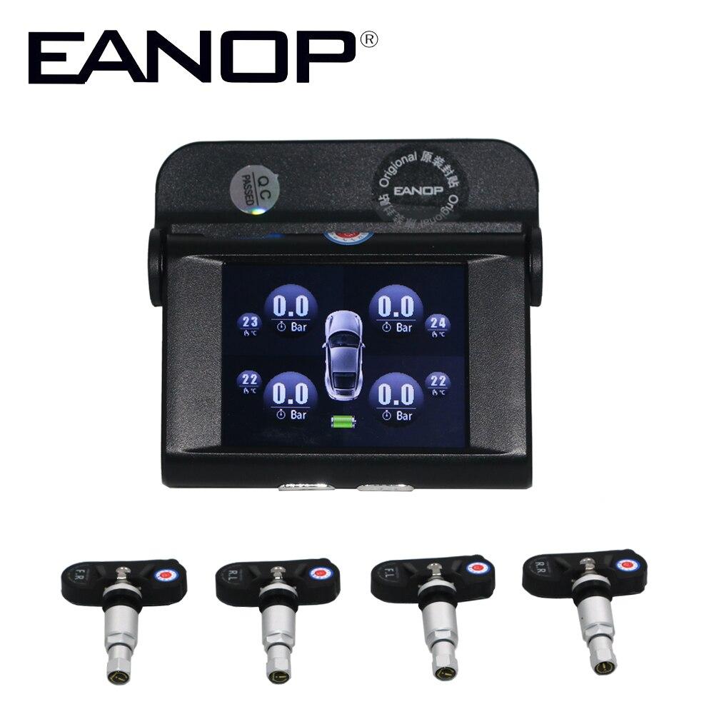EANOP S368 TPMS Tipo di Auto Sistema di Monitoraggio della Pressione di Pressione Sensori di Allarme di sicurezza Interno & Esterno Max 7.0 barEANOP S368 TPMS Tipo di Auto Sistema di Monitoraggio della Pressione di Pressione Sensori di Allarme di sicurezza Interno & Esterno Max 7.0 bar