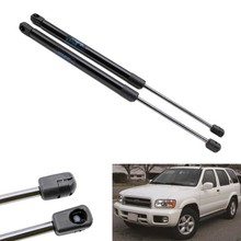 2pcs Auto Rear Window Gas Struts Shock Struts Lift Supports fit for Infiniti QX4 1999-2002 2003 for Nissan Pathfinder 18.9 inch