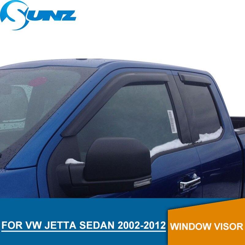 for Volkswagen VW JETTA 2002-2012 Window Visor deflector 2002 2003 2004 2005 2006 2007 2008 2009 2011 2012 SUNZ