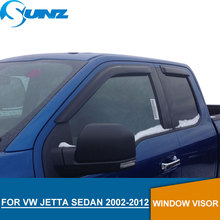 цена на for Volkswagen VW JETTA 2002-2012 Window Visor deflector for VW JETTA 2002 2003 2004 2005 2006 2007 2008 2009 2011 2012 SUNZ