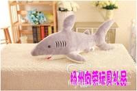 85 см-Китовая акула игрушка кукла детская одежда с рисунком из мультфильма большие подарки куклы подруга огромное чучело Бесплатная доставк...