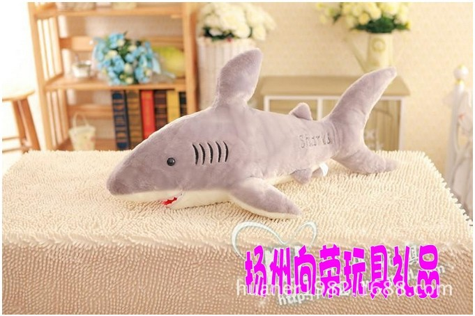 85cm--Whale shark toy doll baby cartoon big doll girlfriend gifts huge stuffed animal free shipping huge new plush blue shark toy big stuffed sea whale doll gift about 150cm