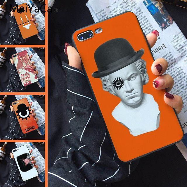 Maiyaca Movie A Clockwork Orange Shell Phone Case For Apple Iphone X