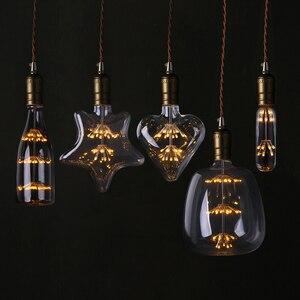 T30 LED Edison Vintage Starry