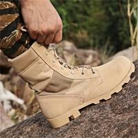 Men Outdoor Sport Camping Hiking Shoes Winter Breathable Travel Boots Male High Top Boots Men Tactical