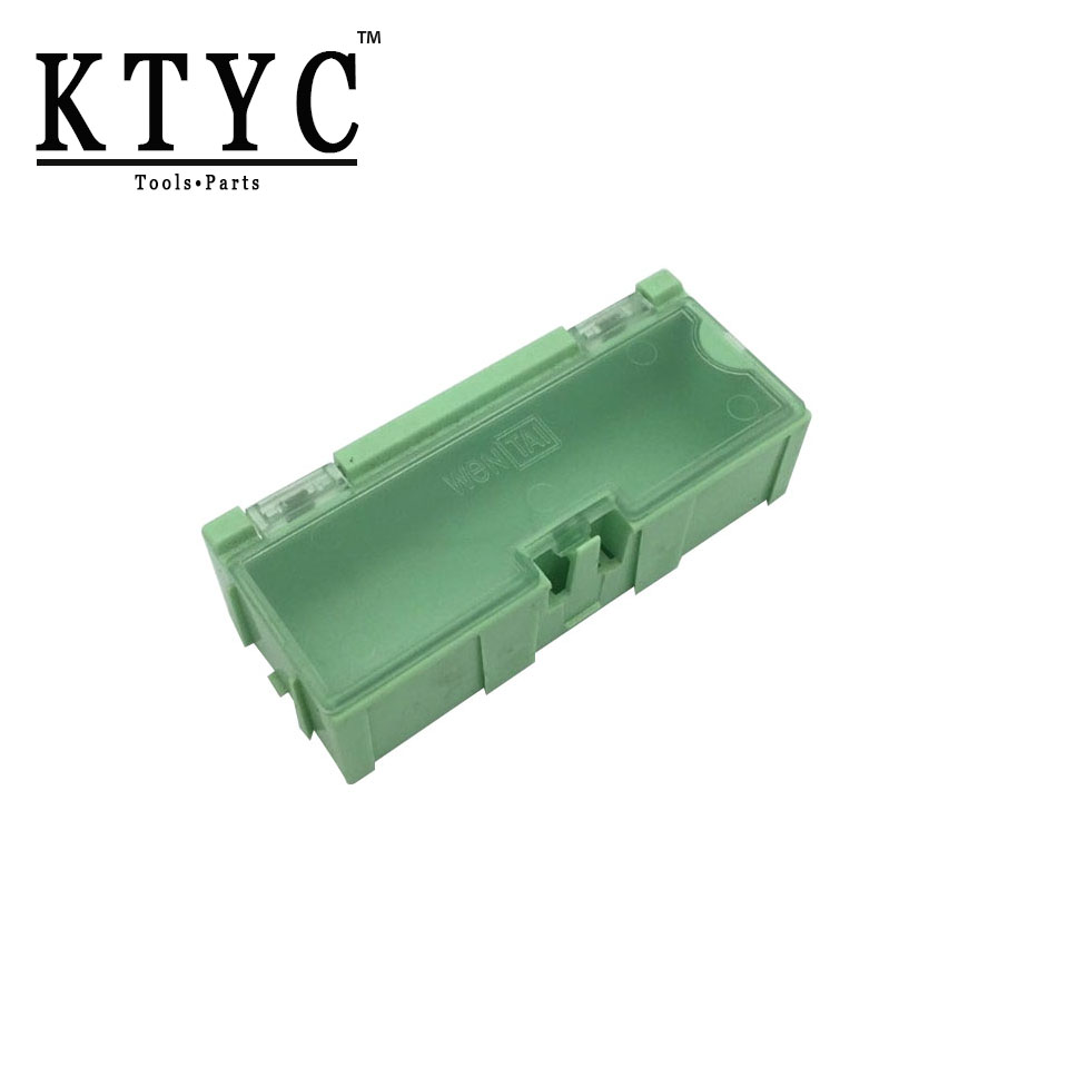 KTYC 45pcs SMD SMT Electronic Component Medium Storage Box High Quality and Practical Jewelry Storaged Case lodestar electronic component box 8 section