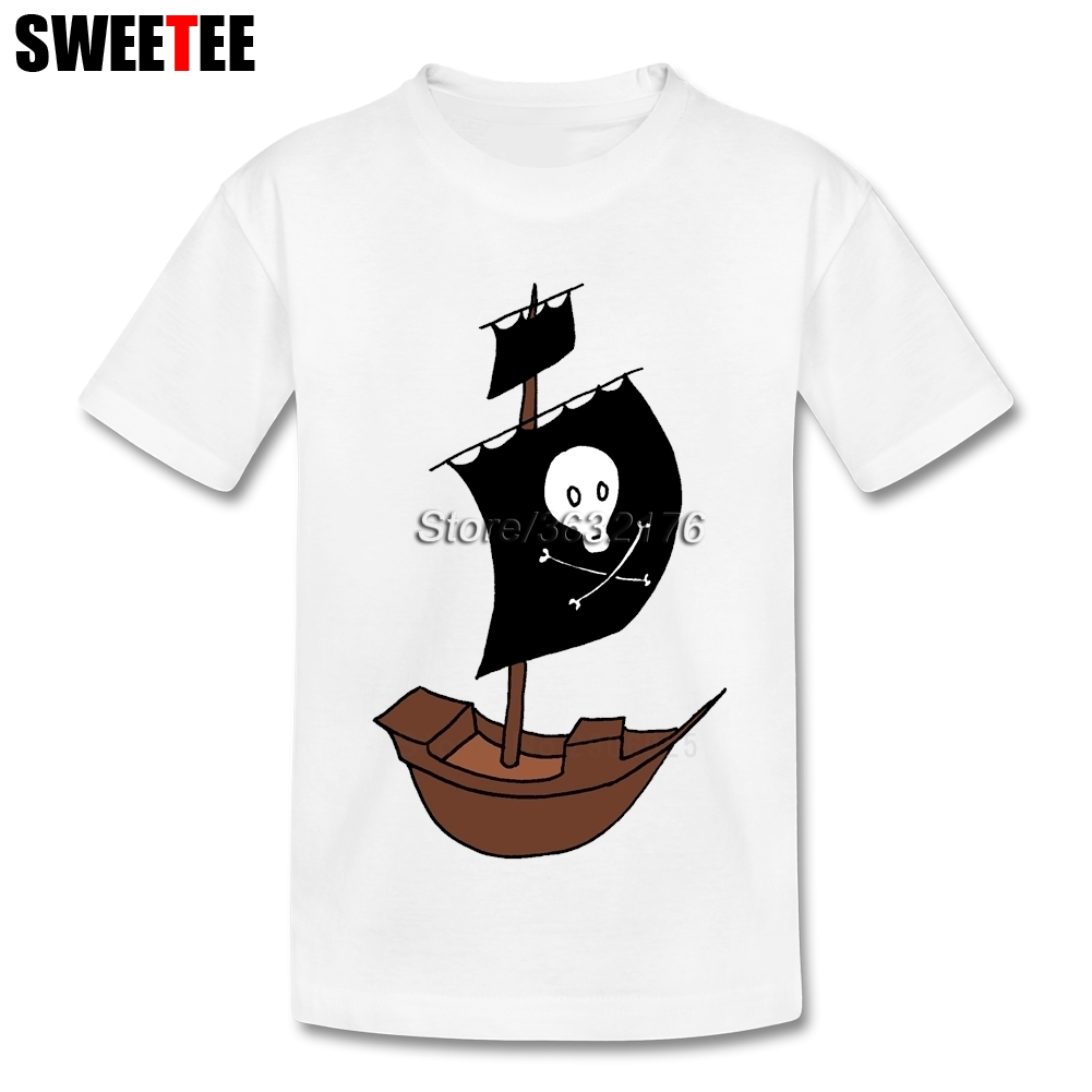 Jake And The Neverland Pirates Boys Girls T Shirt Pure Cotton Short Sleeve O Neck Tshirt childrens Tops 2018 T-shirt For Baby