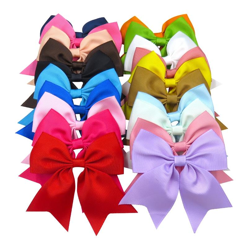 1PCS Swallowtail Ribbon Bow Clip Elastic Hair Bands For Girls Bohemian Hairpins Scrunchy Korean Kids Hair Accessories For Women