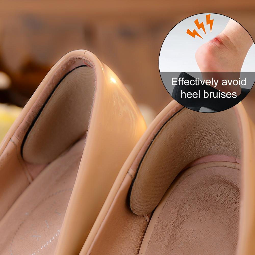 1 Pair Back Shoe Heel Insert Insole Pad Cushion Sponge Grip Foot Care Protector