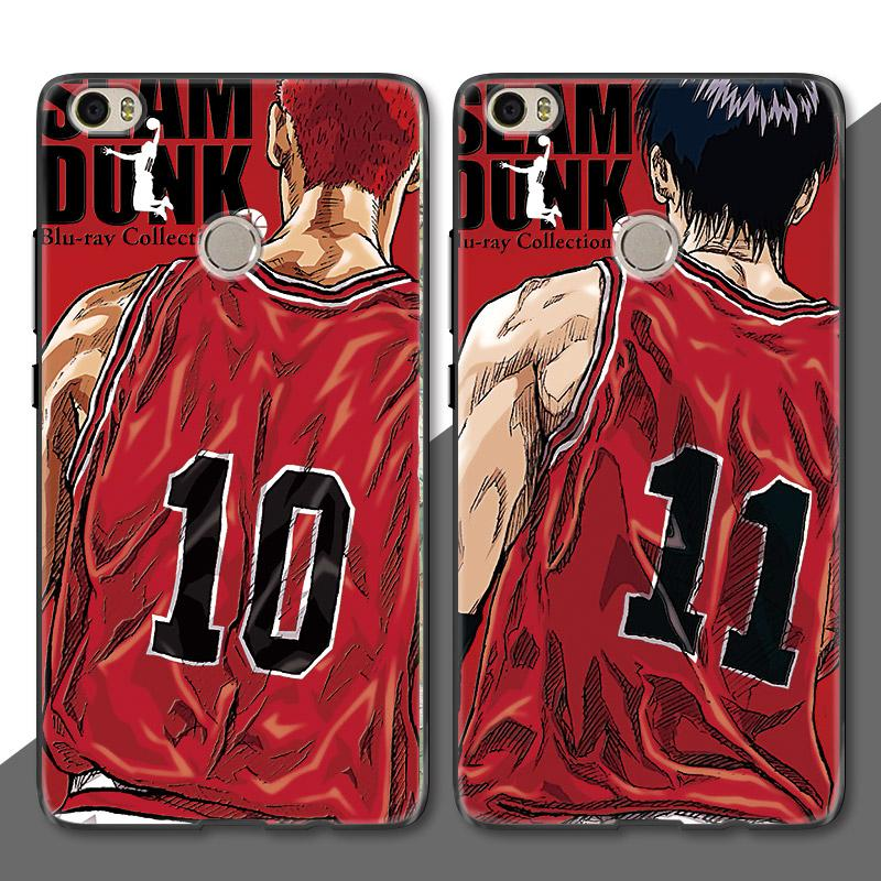 Slam Dunk basketball Rukawa Kaede Sakuragi <font><b>anime</b></font> japan <font><b>case</b></font> cover for <font><b>Xiaomi</b></font> <font><b>mi</b></font> mix2 mix1 max2 max1 <font><b>mix</b></font> <font><b>2</b></font> max <font><b>2</b></font> (No. 10, No. 11) image
