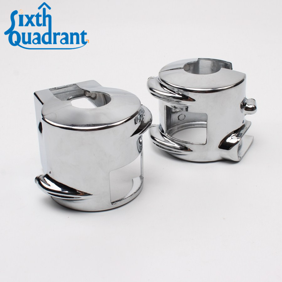 With Hydraulic Clutch 03 04 05 06 07 c/r/s/f/n Motorcycle Handlebar Switch Housing Covers For 2002-2008 Honda Vtx 1800 Models