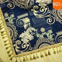 Толстые ковер для деревенского дома Королевский синий ковер Греция легенда покрывало Роскошные салфетки подушки покрывало взять покрытие
