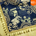 Thick Villa carpet Royal Blue rug Greece legend bedspread Bed Cover luxury placemat cushion bed spread Take Cover Floor Cover