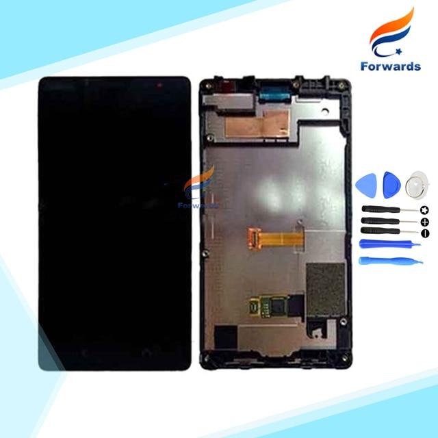 Nueva pantalla lcd de reemplazo para nokia x2 dual sim rm-1013 x2ds asamblea con pantalla Táctil + Marco + Herramientas 1 unidades envío gratis