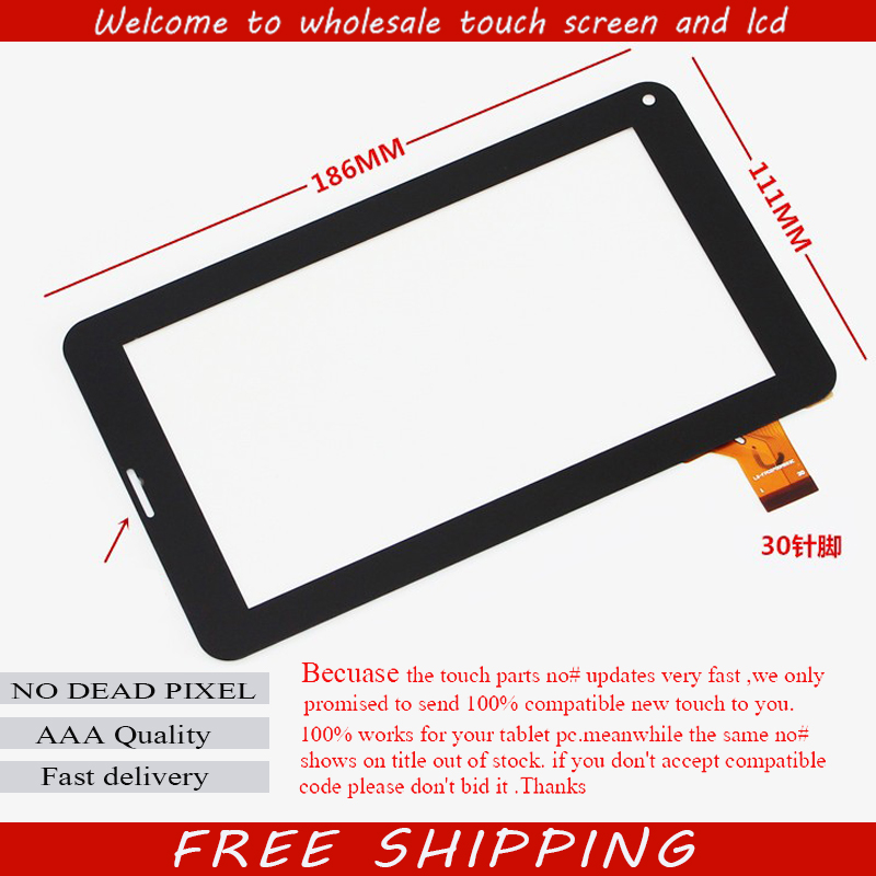 Original New SUPRA M713G Tablet Touch Screen Touch Panel digitizer glass Sensor Replacement Free Shipping new for 7 supra m722 tablet touch screen digitizer panel sensor glass replacement free shipping