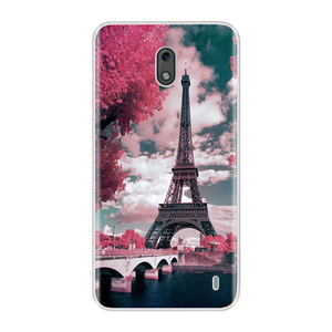 Image 3 - For Nokia 2 3 Case Cover Soft Silicone TPU Fashion Colorful Painted Phone Back Cover Protective Case For Nokia 2 3