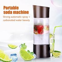 Portable Source Sparkling Water Maker Bubble Machine Without Gas Cylinder Soda Water Maker Machine Making Carbonated Drink