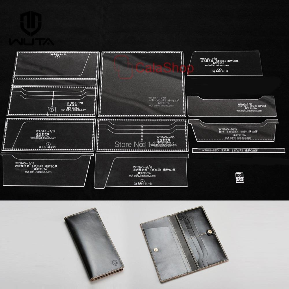 1 Satz/los Acryl Vorlage Klare Plexiglas Leder Handwerk Muster DIY ...