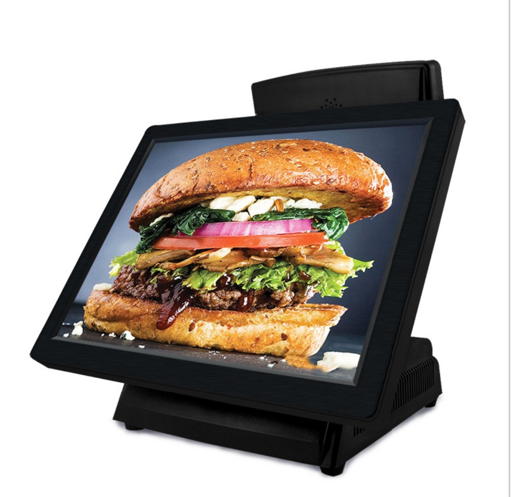 15 Inch Direct Touch Pos All In One Pc With  Ram 2G , SSD32G