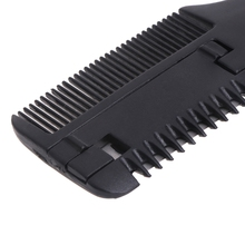Hair-Comb Trimmer Handle Inside-Blades Home Cutting Thinning DIY Black 1-Pc New-Design