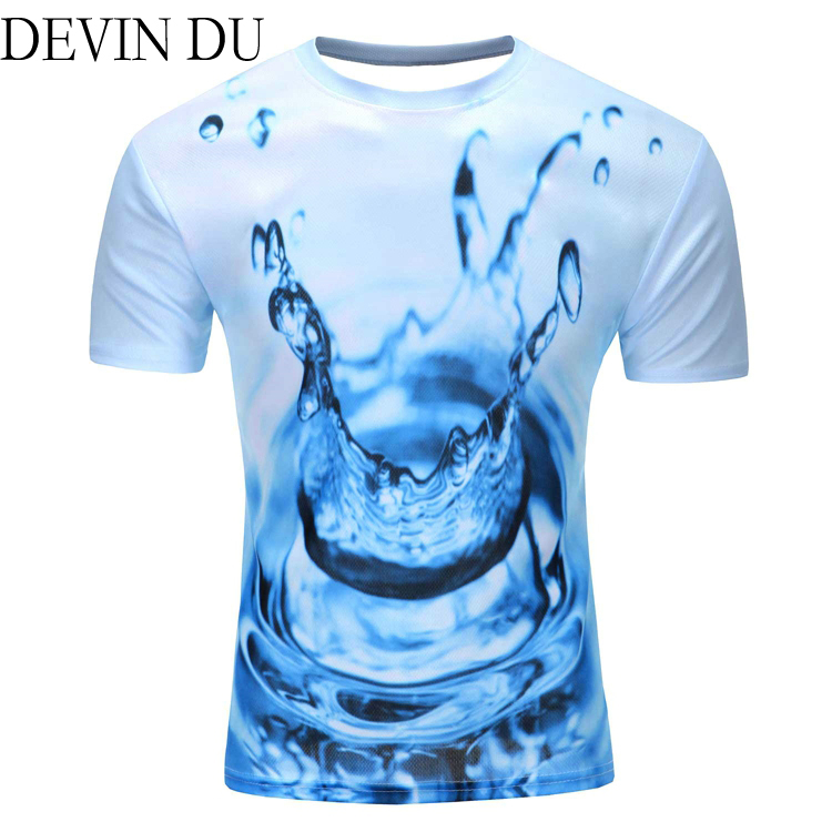 2019 Water Drop Mobile 3D Print Short Sleeves Men t shirt Harajuku Summer Groot Men tshirt Top Plus Size shirt stranger things