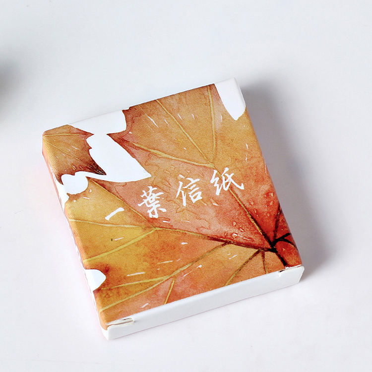 40 pcs set creative various leaves stickers adhesive for Decoration porte adhesive