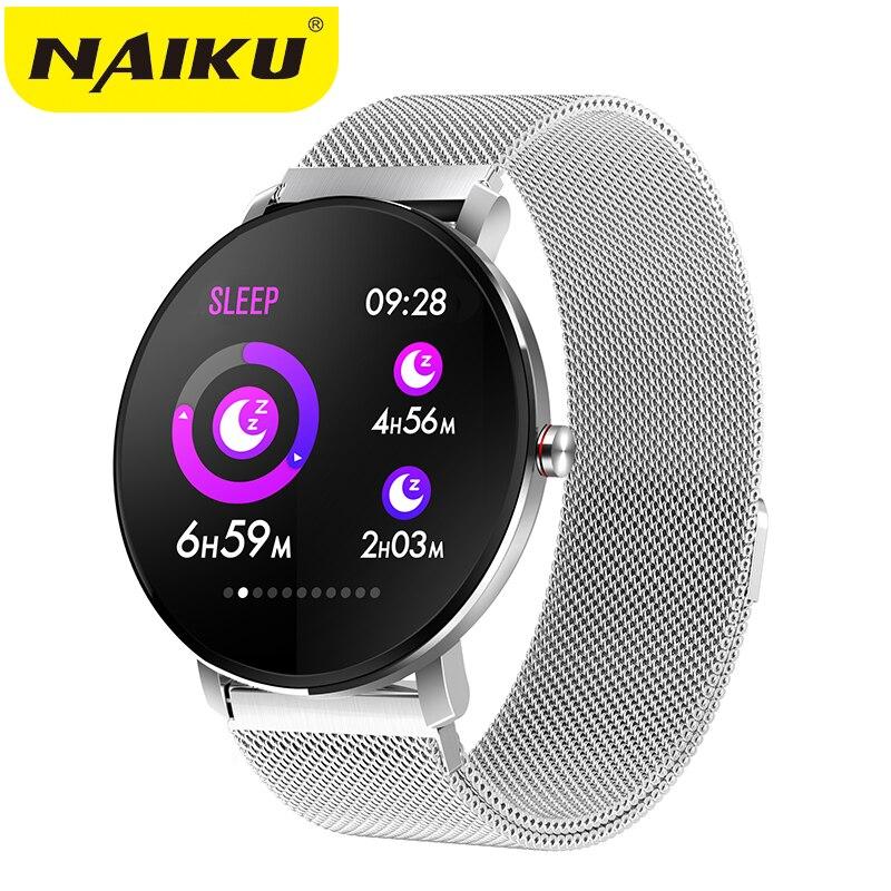 Где купить NAIKU K9 Спортивные Bluetooth 1,3-дюймовые умные часы с сенсорным экраном фитнес-трекер для мужчин IP68 Водонепроницаемые женские умные часы PK v11 Q8