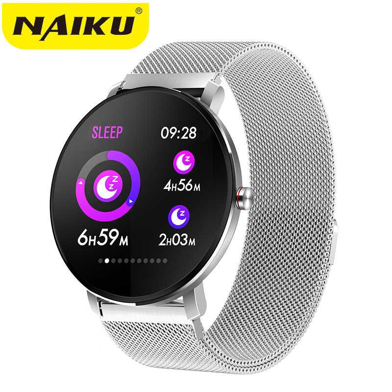 NAIKU K9 Sport Bluetooth 1,3 Zoll Full Touch Bildschirm Smart Uhr Fitness Tracker Männer IP68 wasserdichte Frauen Smartwatch PK v11 q8