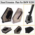 Motorcycle CNC Parking Side Kickstand Stand Extension Base Plate Parts For BMW R1200GS LC 2013-2016, R1200GS Adventure 2014-2016