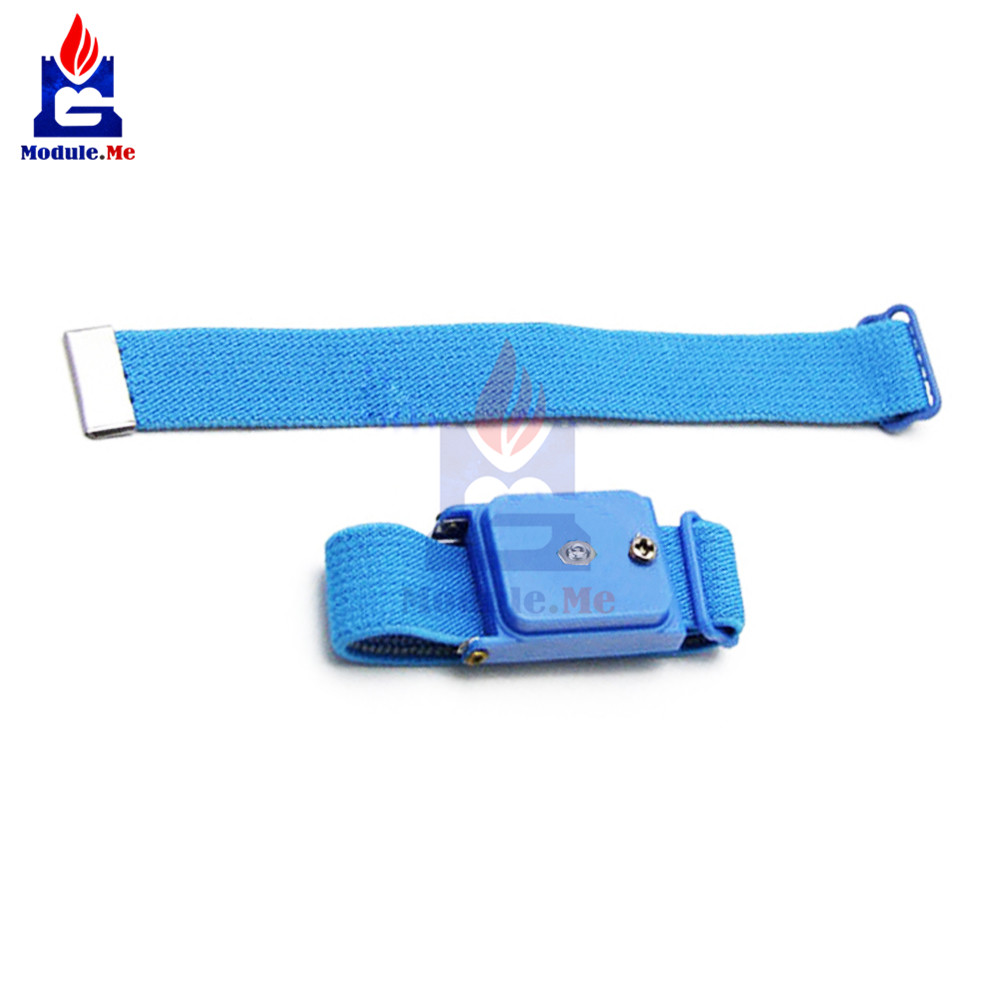 Cordless Wireless Clip Antistatic Anti Static Esd Wristband Wrist Strap Discharge Cables For Electrician Ic Plcc Worker To Adopt Advanced Technology Video Games
