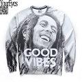 2016 Movie Stars Bob Marley Print Sweatshirt Hiphop Street Wear Fashion Teen Long Sleeve Sweatshirt Hip hop Sudaderas Hombre