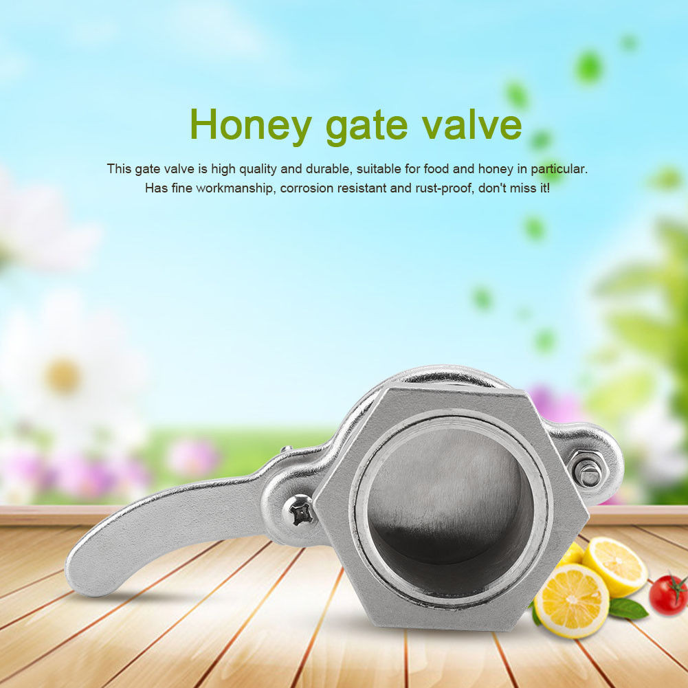 Image 3 - beekeeping supplies Stainless Steel Honey Tap Gate Valve Beekeeping Extractor Bottling Tool SilverEquipconvenient  product-in Beekeeping Tools from Home & Garden