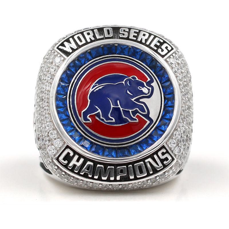 Prix pour 2016 Chicago Cubs Baseball World Series Championnat Anneaux Pour Lecteur ZOBRIST Ventilateur Anneau, drop Shipping Haute Qualité Anneaux
