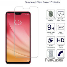 Tempered Glass For Xiaomi Mi8 SE Mi A1 8 Lite 8 Pro Mi5X Mi6X Pocophone F1 Redmi 6 Pro Screen Protector Toughened Film 9H 2.5D(China)