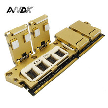 DDR4 SDRAM Particle Test Fixture Multi-fuction All in one Jig Memory Chip Burn Socket Excellent Quality