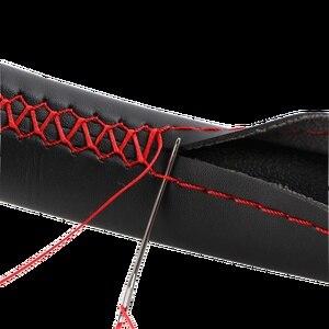 Image 5 - Único ante nuevo Material protector para volante de coche tamaño 36cm/38cm/40cm para Skoda Chevrolet Ford Nissan, etc.