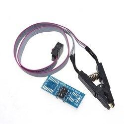 Тестовый зажим SOIC8 SOP8 для EEPROM 93CXX/25CXX/24CXX, программирование в цепи, USB программатор TL866CS TL866A EZP2010