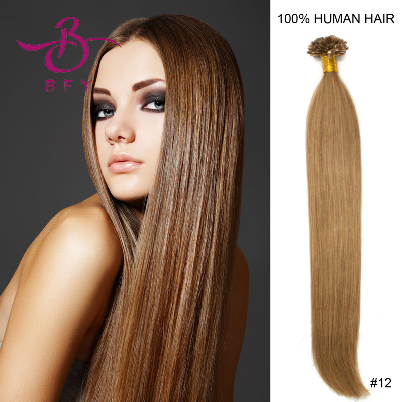 Aliexpress 27 Light Brown Nail Tip Hair Extension Keratin 1g Pc Dye Crayons False Capsules Ribbon Fusion 50pcs 16 20 24 From