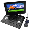 180 Degree Rotation 10 inch TFT LCD Screen Digital Multimedia Portable DVD with Card Reader &USB Port &TV&Game Function
