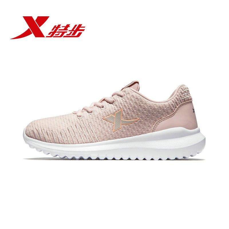 881118329003 xtep chaussures pour femmes chaussures de sport 2019 printemps nouveau léger confortable véritable chaussures décontractées femmes