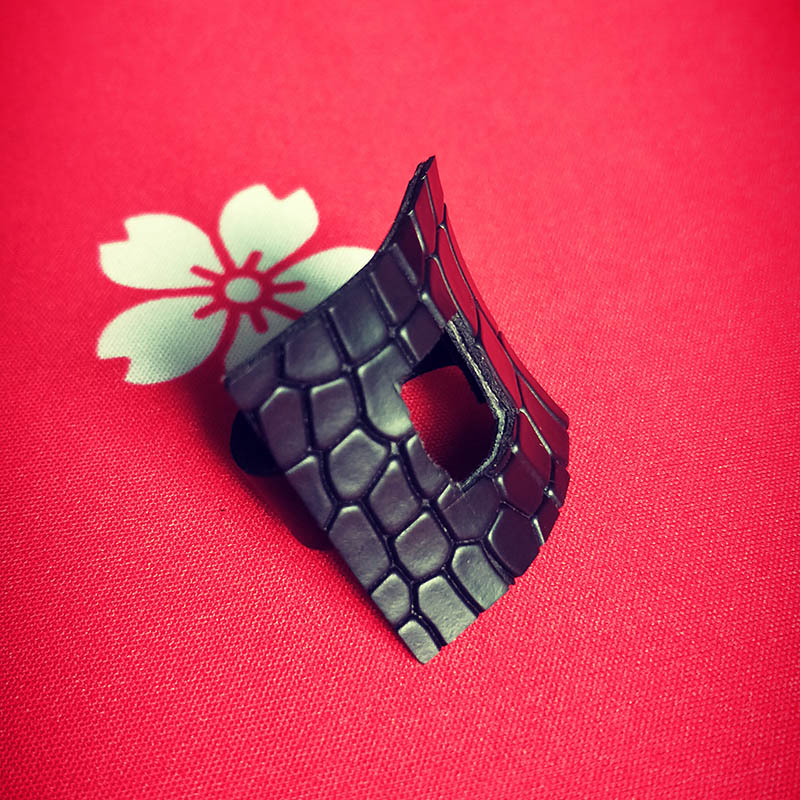 Купить с кэшбэком YD&YDBZ NEW Leather Ring For Women 2019 Fashion Designer Punk Style Jewelry Rings Handmade Artificial Leather Jewelry Wholesale
