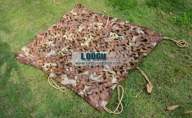VILEAD 4M x 5M (13' x 16.5') Desert Digital Camo Netting Military Army Camouflage Net Shelter Shade Sails Net Car Covers Tent
