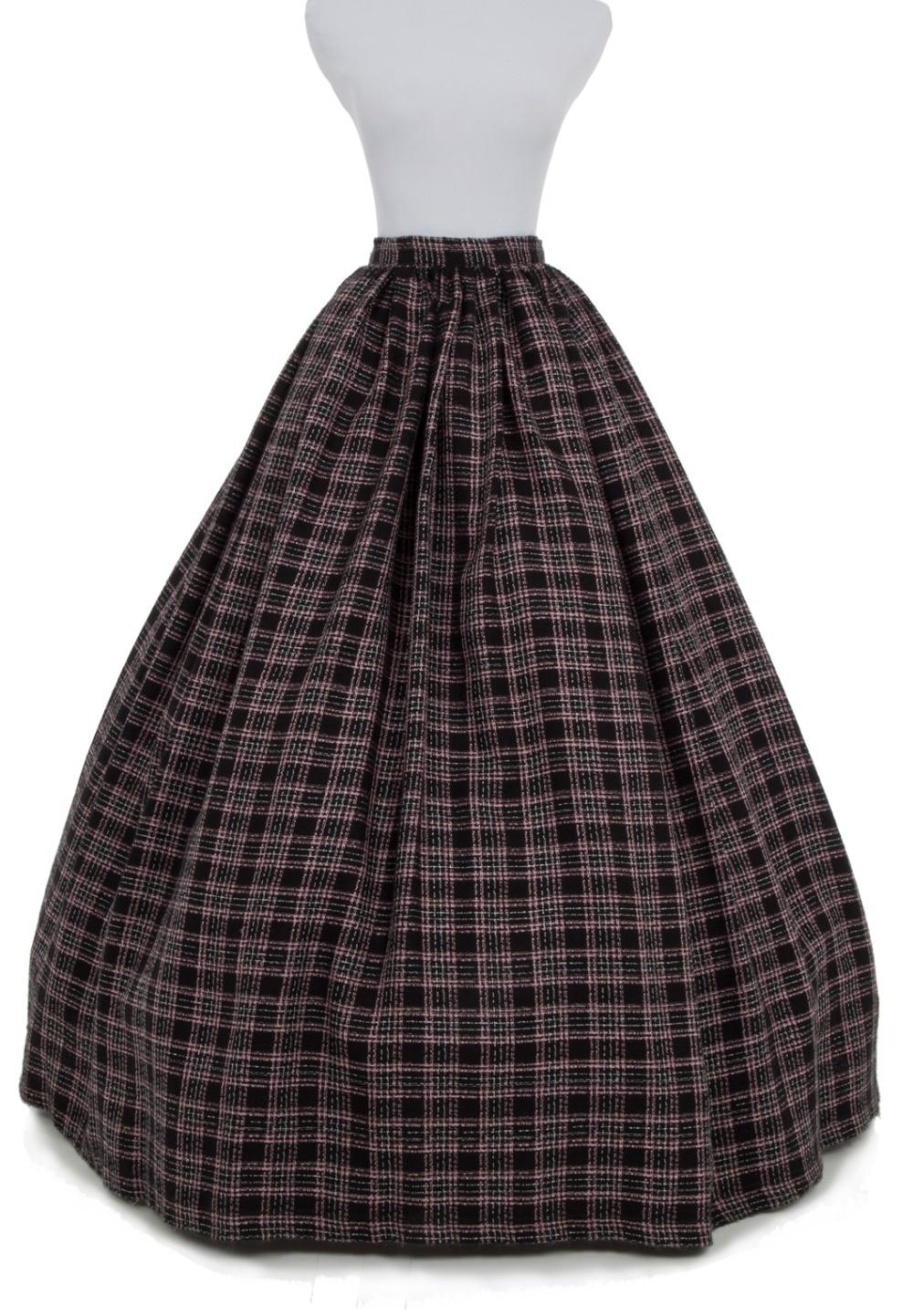Aliexpress.com : Buy Plaid Fashion Microfiber Wool Floor Length ...