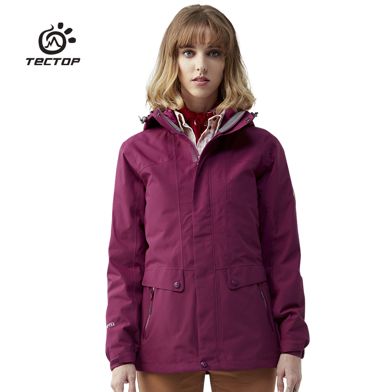 Winter Jacket Women Explore Outdoor Down Jacket 3 In 1 Travel Clothing Men's Anti-splash Water Wind Coat Hiking Jackets For Men