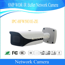 Free Shipping DAHUA IP Camera CCTV 8MP WDR IR Bullet Network Camera with POE IP67 IK10 Without Logo IPC-HFW5831E-ZE