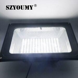 Image 5 - Szyoumy recém chegados led solar remoto luz de inundação 100 w led projector à prova dwaterproof água emergência rua jardim iluminação ip66